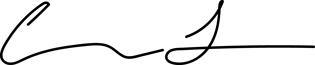 Ted Bauman Signature