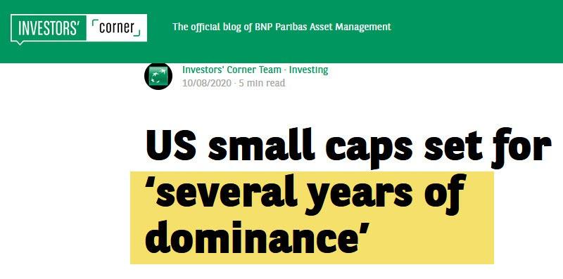 Small Cap Headline