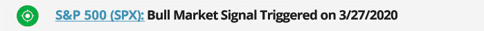 sp500 bear market signal 2020