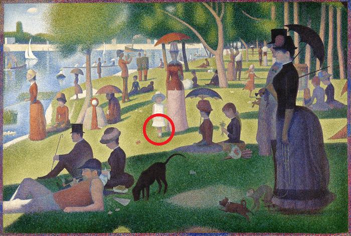 Georges Seurat's A Sunday on La Grande Jatte