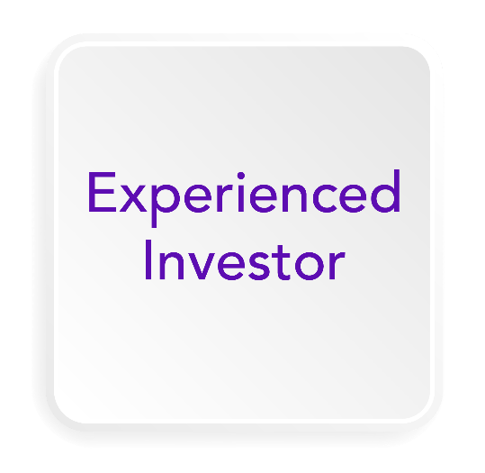 experienced investor button