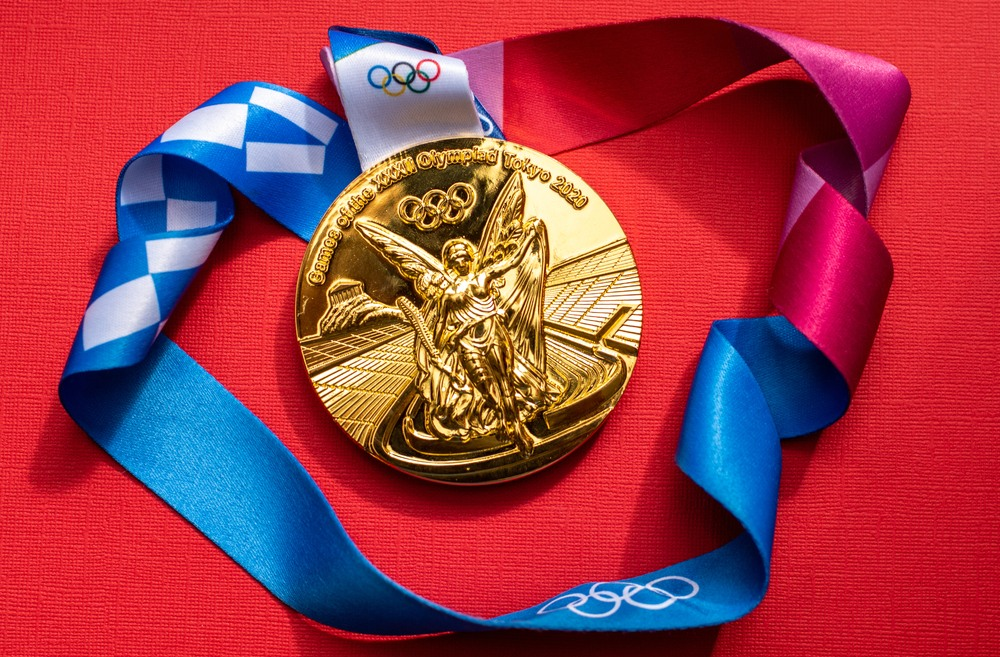 2020 Tokyo Olympic Gold-Medal Winner: 3D Printing!