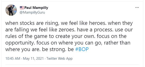 Paul Mampilly BOP tweet